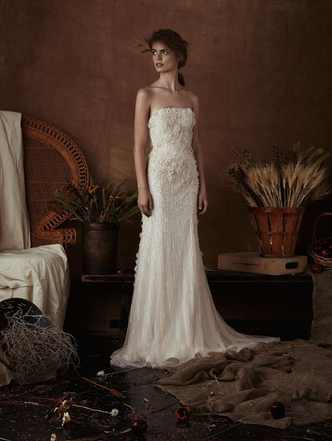 Gracie gown from the 2018 Isabelle Armstrong collection, as seen on Bride.Canada