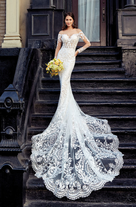 Georgetta gown from the 2018 KittyChen collection, as seen on Bride.Canada