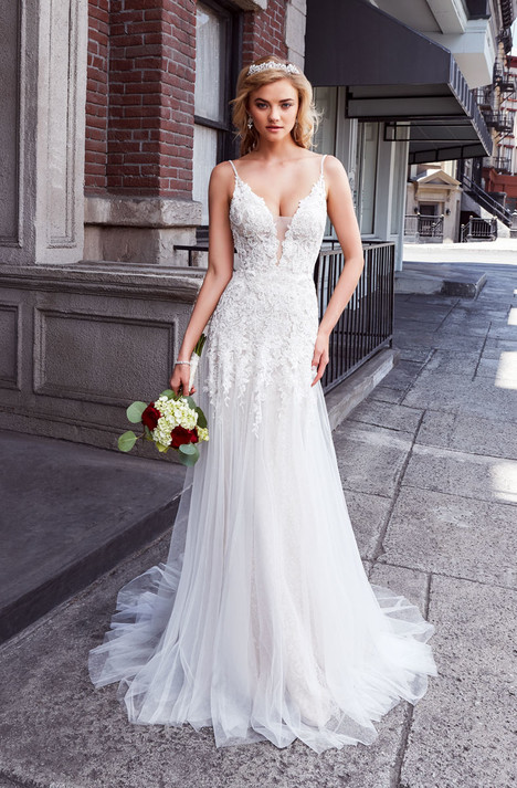 Layla gown from the 2018 KittyChen collection, as seen on Bride.Canada