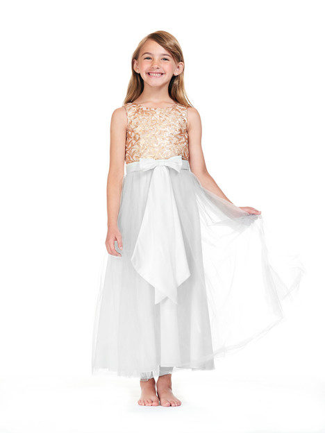 F0180 gown from the 2018 Bari Jay: Flower Girls collection, as seen on Bride.Canada