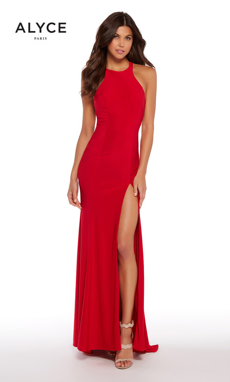 599961 (Red) gown from the 2018 Alyce Paris collection, as seen on Bride.Canada