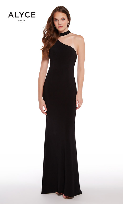 59998 (Black) gown from the 2018 Alyce Paris collection, as seen on Bride.Canada