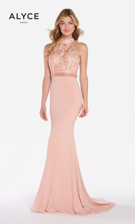 60024 (Cameo Pink) gown from the 2018 Alyce Paris collection, as seen on Bride.Canada