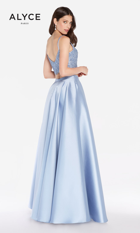 60056 (French Blue) gown from the 2018 Alyce Paris collection, as seen on Bride.Canada
