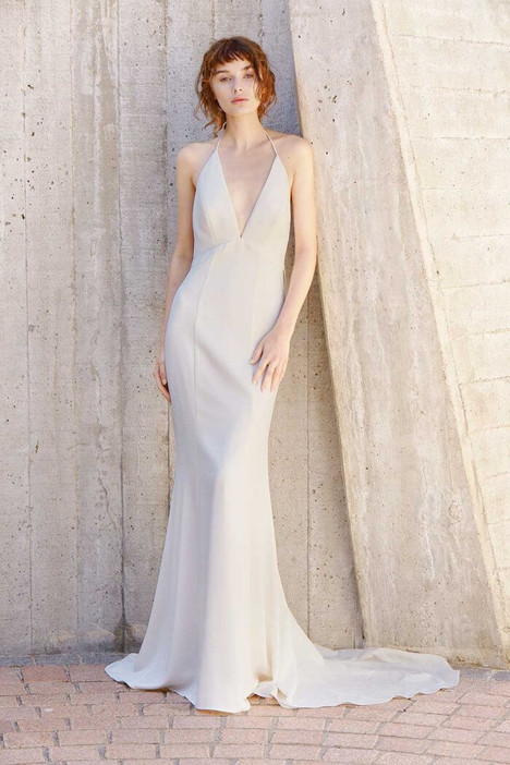 Blakely gown from the 2018 Amsale Nouvelle collection, as seen on Bride.Canada