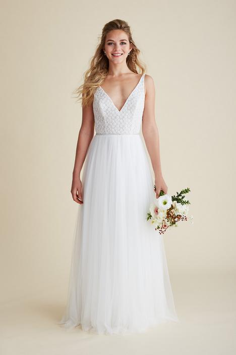 Flutter gown from the 2018 Astrid & Mercedes collection, as seen on Bride.Canada