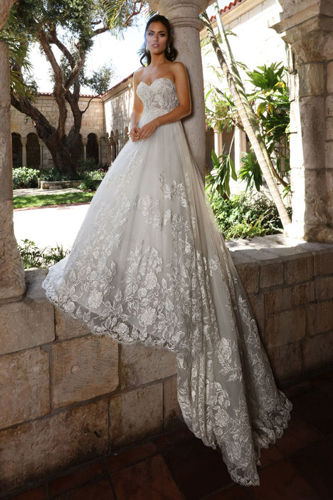 13128 gown from the 2018 Cristiano Lucci collection, as seen on Bride.Canada