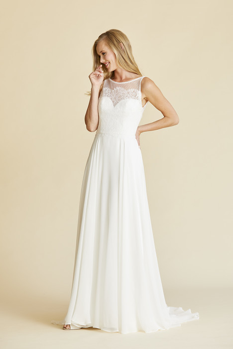 Ava gown from the 2018 Amy Kuschel collection, as seen on Bride.Canada