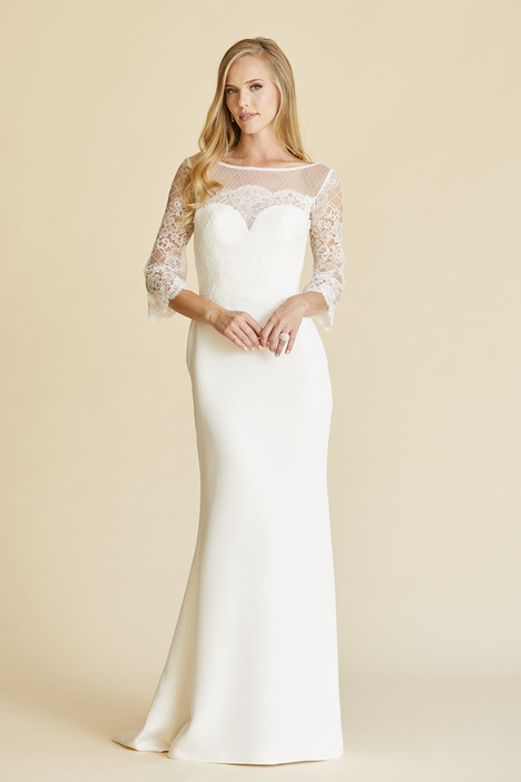 Livia gown from the 2018 Amy Kuschel collection, as seen on Bride.Canada
