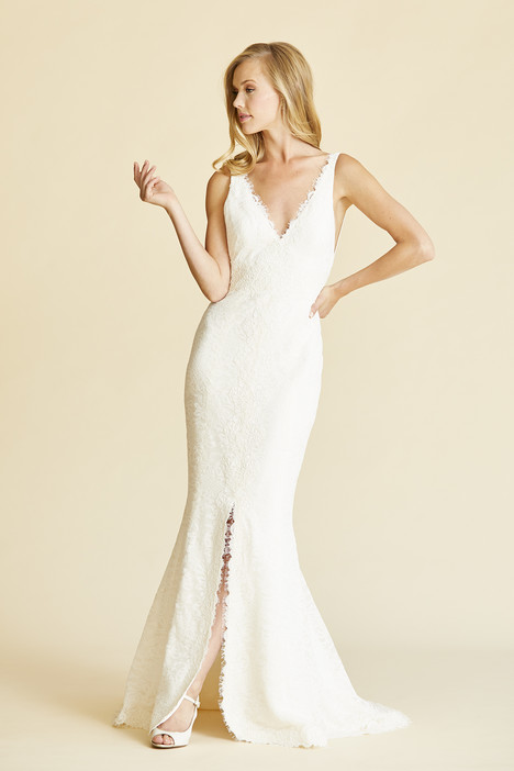 Vieve gown from the 2018 Amy Kuschel collection, as seen on Bride.Canada
