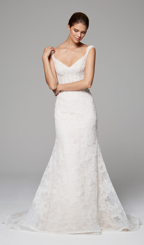 Zara gown from the 2018 Anne Barge collection, as seen on Bride.Canada