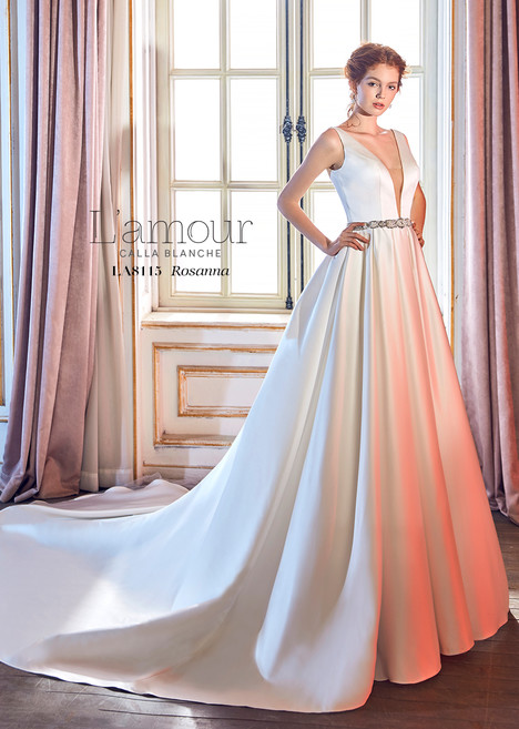 Rosanna gown from the 2018 L'Amour by Calla Blanche collection, as seen on Bride.Canada