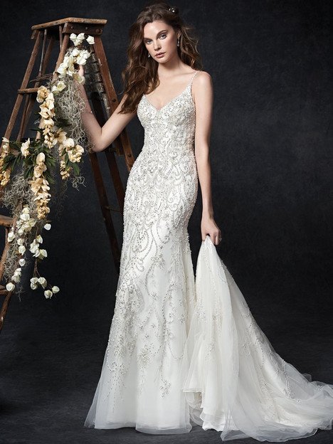 1766 gown from the 2018 Kenneth Winston collection, as seen on Bride.Canada