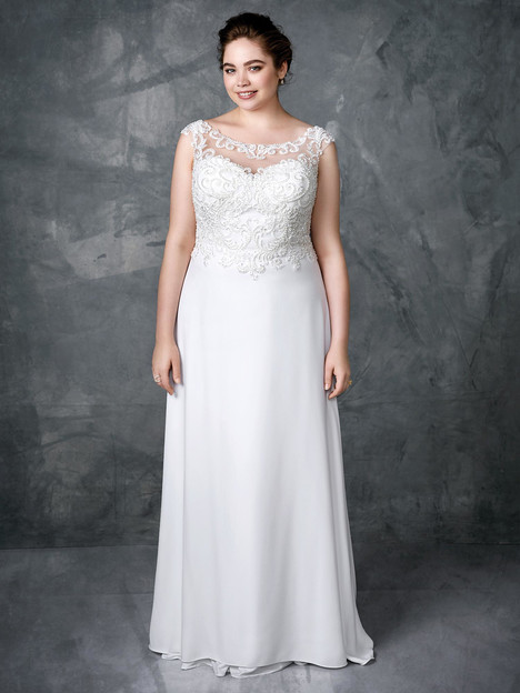 3407 gown from the 2018 Femme by Kenneth Winston collection, as seen on Bride.Canada