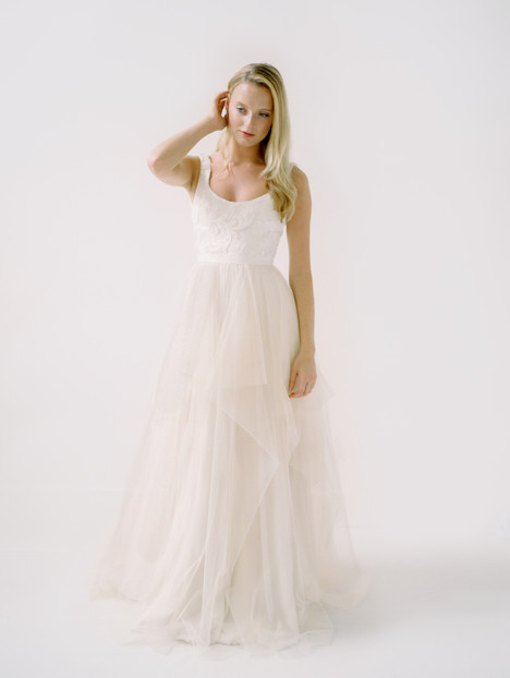 Andrianna gown from the 2018 Truvelle collection, as seen on Bride.Canada