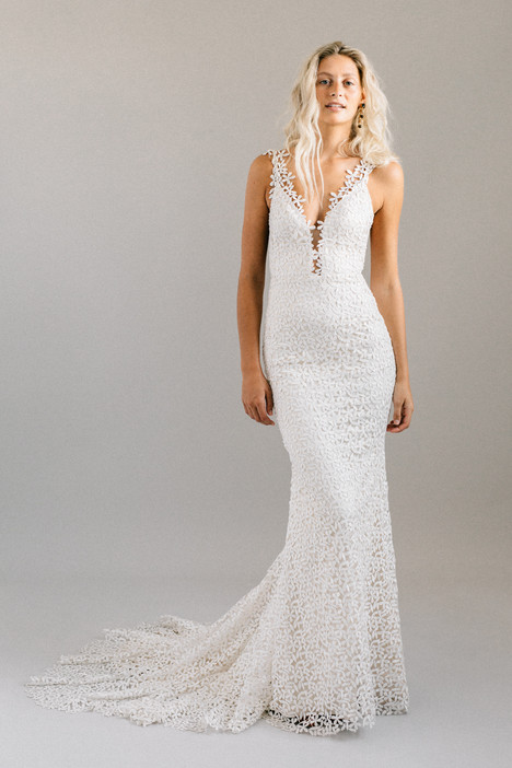 Jasmine gown from the 2018 Laudae collection, as seen on Bride.Canada