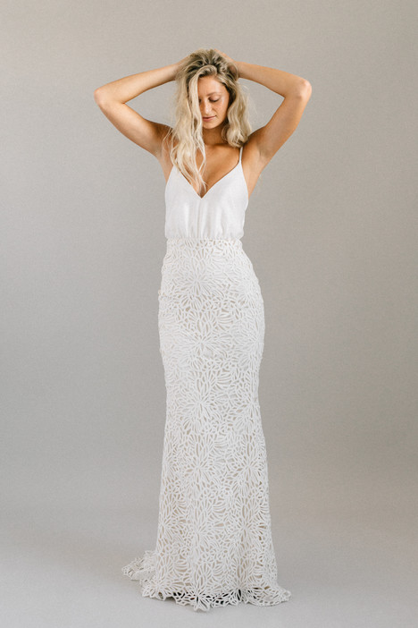 Yucca gown from the 2018 Laudae collection, as seen on Bride.Canada