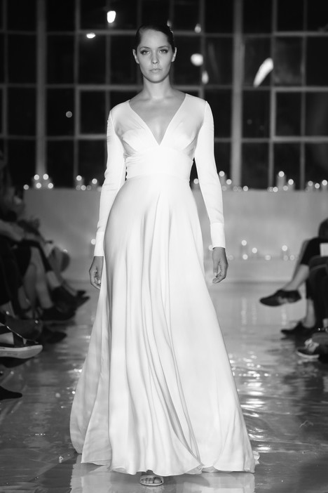 Baker gown from the 2018 Unbridaled by Dan Jones collection, as seen on Bride.Canada