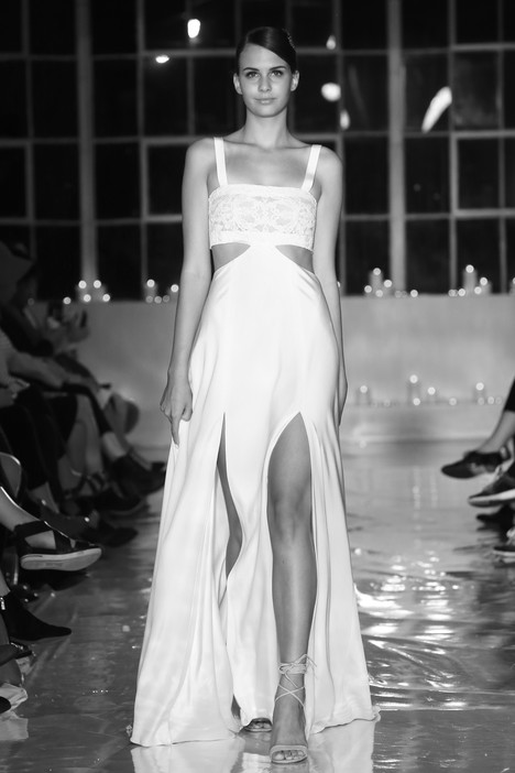 Labelle gown from the 2018 Unbridaled by Dan Jones collection, as seen on Bride.Canada