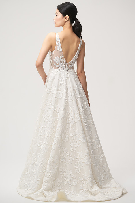 Lela (back) gown from the 2018 Jenny by Jenny Yoo collection, as seen on Bride.Canada
