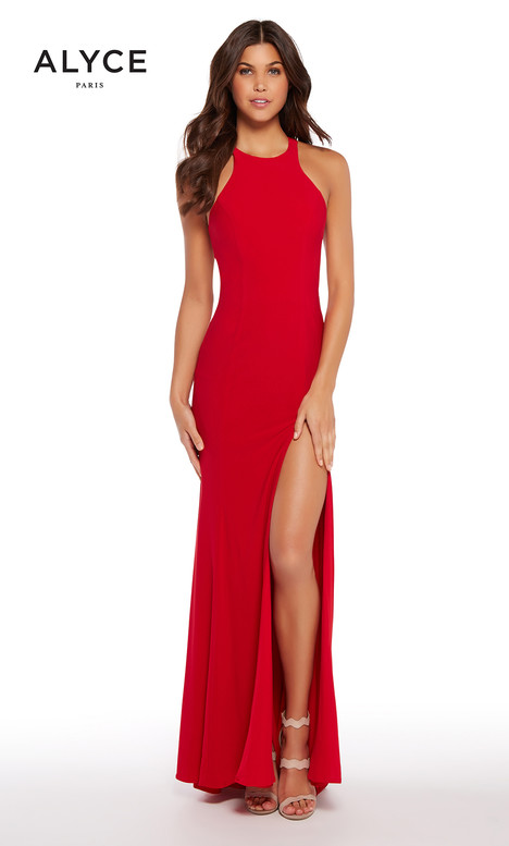 599962 (Red) gown from the 2018 Alyce Paris collection, as seen on Bride.Canada
