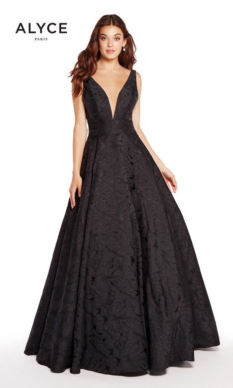 60171 (Black) gown from the 2018 Alyce Paris collection, as seen on Bride.Canada