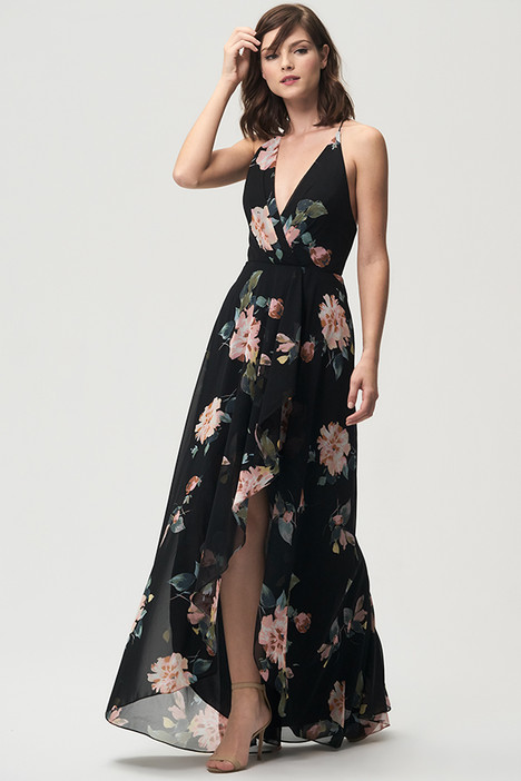 Farrah (Black Cinnamon Rose) gown from the 2018 Jenny Yoo Bridesmaids collection, as seen on Bride.Canada