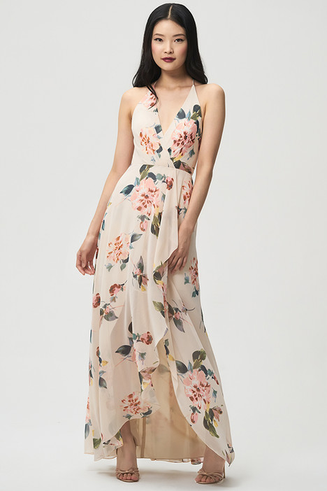 Farrah (Blush) gown from the 2018 Jenny Yoo Bridesmaids collection, as seen on Bride.Canada