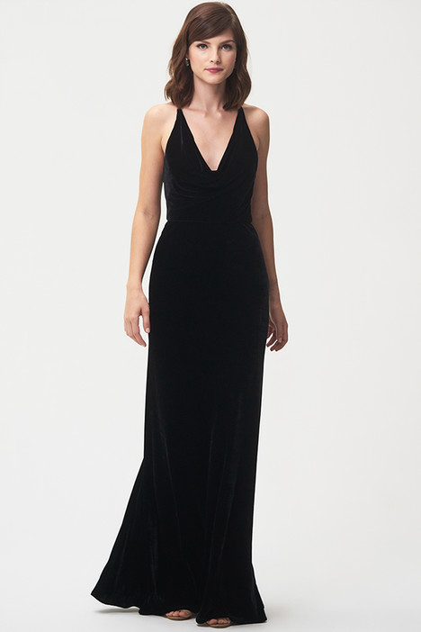 Sullivan (Black) gown from the 2018 Jenny Yoo Bridesmaids collection, as seen on Bride.Canada