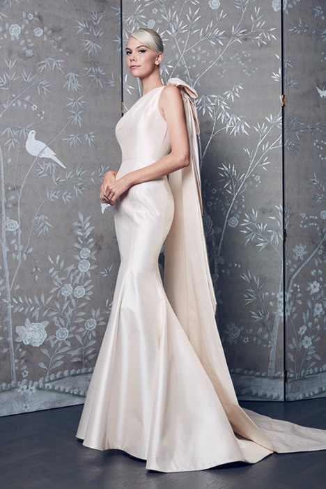 L8156 gown from the 2018 Legends Romona Keveza collection, as seen on Bride.Canada