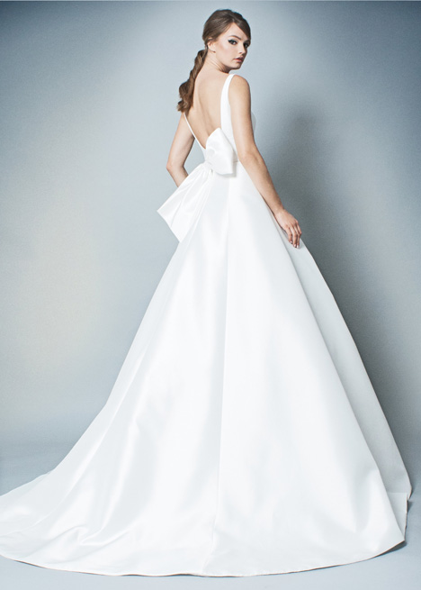 RB007 (back) gown from the 2018 Romona collection, as seen on Bride.Canada