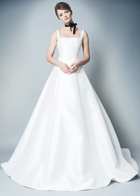 RB007 gown from the 2018 Romona collection, as seen on Bride.Canada