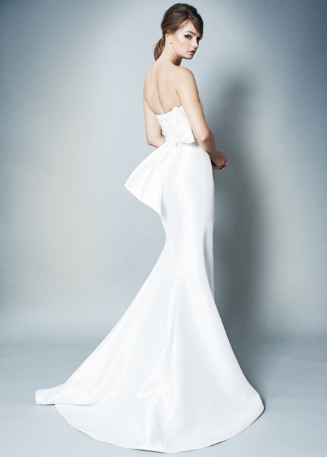 RB009 (back) gown from the 2018 Romona collection, as seen on Bride.Canada