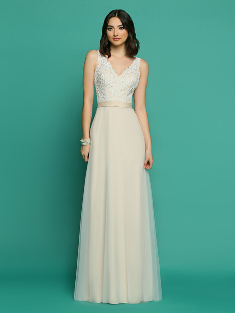 F7055AL gown from the 2018 Informals by DaVinci collection, as seen on Bride.Canada