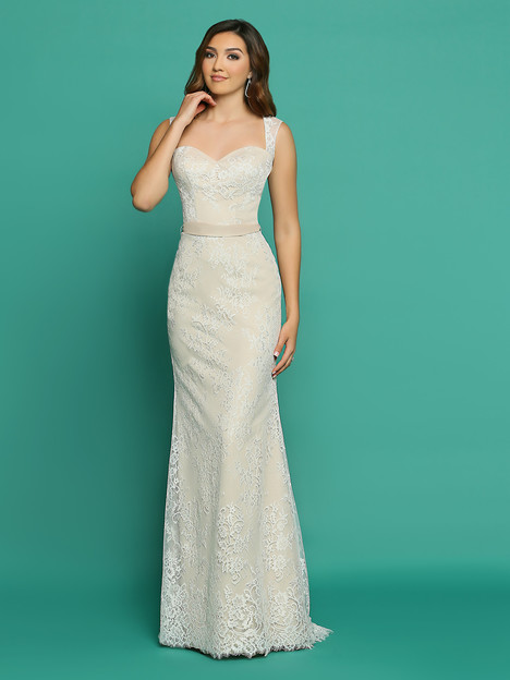 F7056AL gown from the 2018 Informals by DaVinci collection, as seen on Bride.Canada