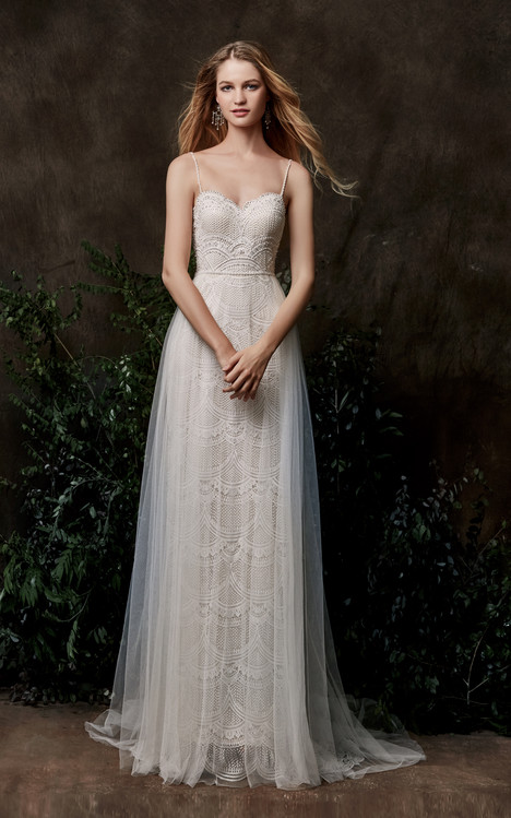 Ivy gown from the 2018 Chic Nostalgia collection, as seen on Bride.Canada