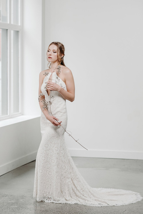 Ava gown from the 2018 Pure Magnolia collection, as seen on Bride.Canada
