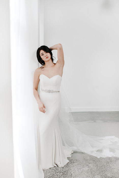 Allison gown from the 2018 Pure Magnolia collection, as seen on Bride.Canada