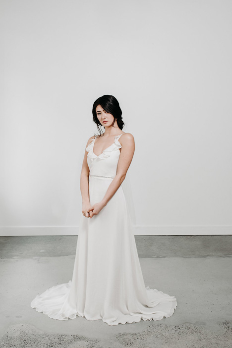 Belle gown from the 2018 Pure Magnolia collection, as seen on Bride.Canada