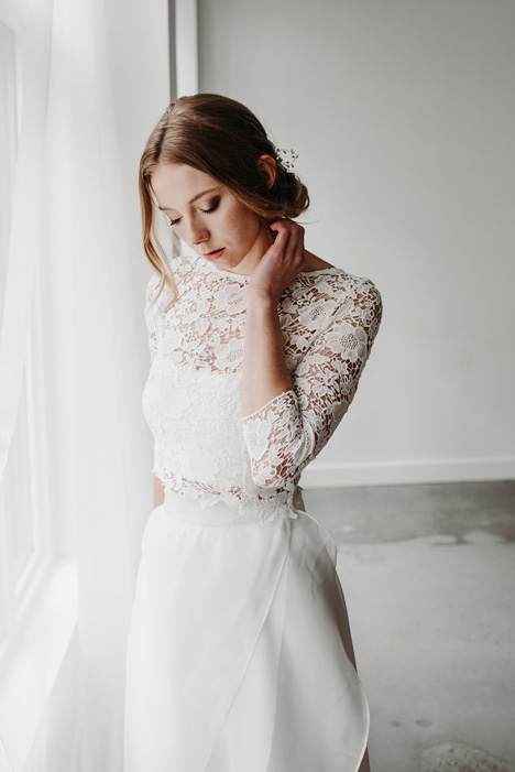 Poppy (Top) gown from the 2018 Pure Magnolia collection, as seen on Bride.Canada