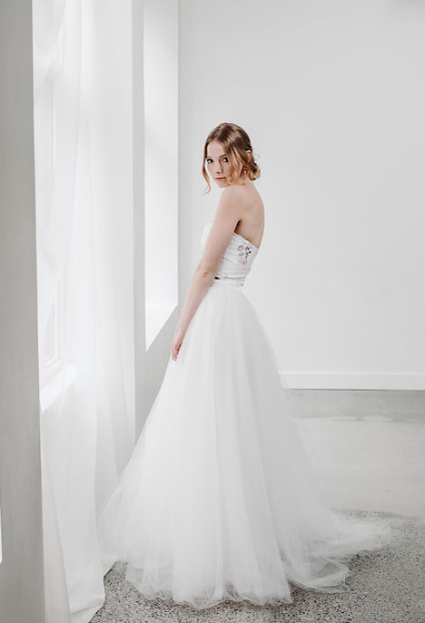 Danielle gown from the 2018 Pure Magnolia collection, as seen on Bride.Canada