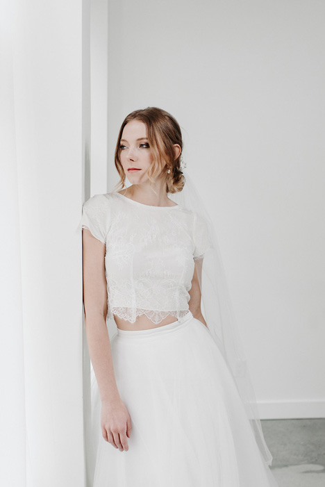 Olivia (Top) gown from the 2018 Pure Magnolia collection, as seen on Bride.Canada