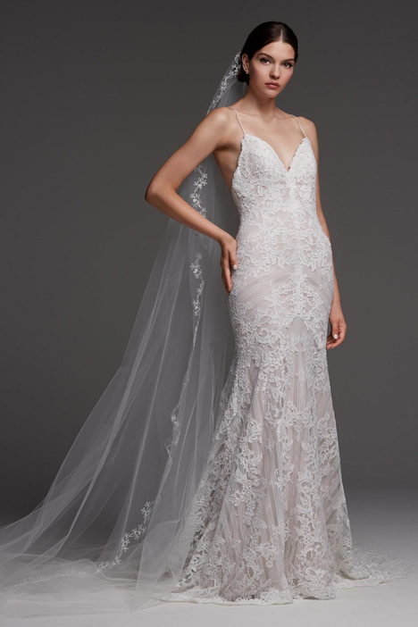 Anjou gown from the 2018 Watters Brides collection, as seen on Bride.Canada