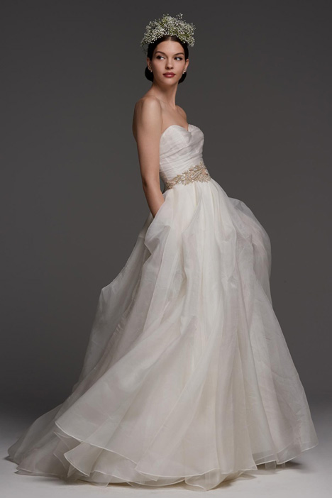 Canella gown from the 2018 Watters Brides collection, as seen on Bride.Canada