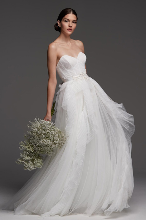 Flavian gown from the 2018 Watters Brides collection, as seen on Bride.Canada