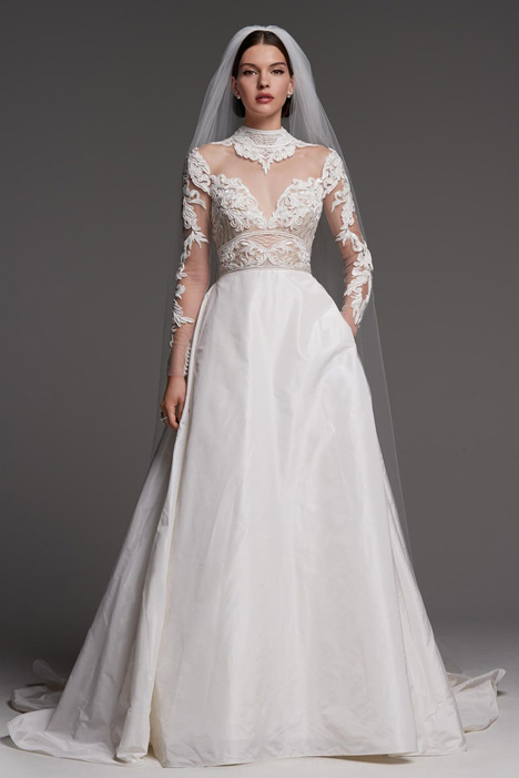 Kelly gown from the 2018 Watters Brides collection, as seen on Bride.Canada
