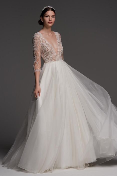 Lucretia gown from the 2018 Watters Brides collection, as seen on Bride.Canada