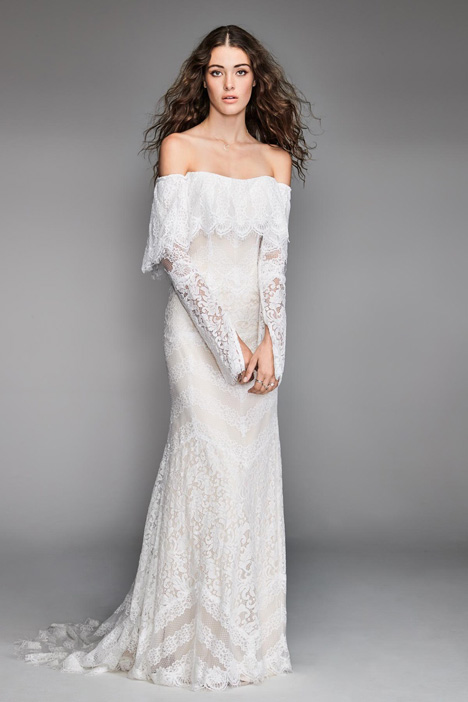Hester gown from the 2018 Watters: Willowby collection, as seen on Bride.Canada