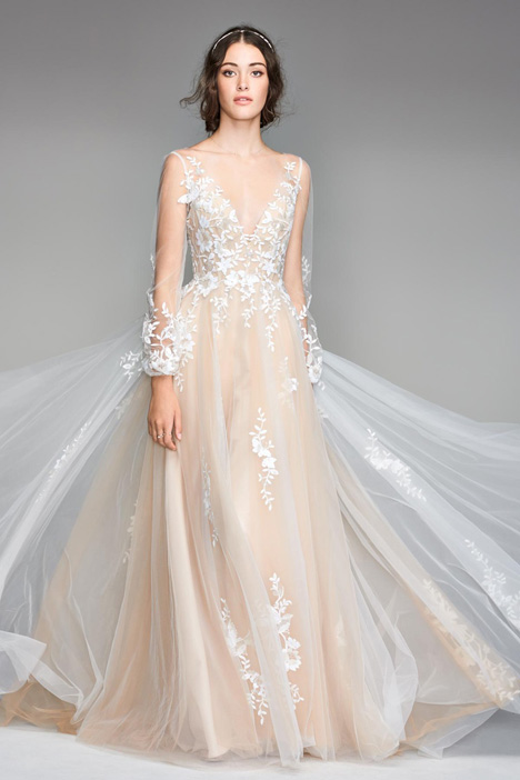 Saros gown from the 2018 Watters: Willowby collection, as seen on Bride.Canada