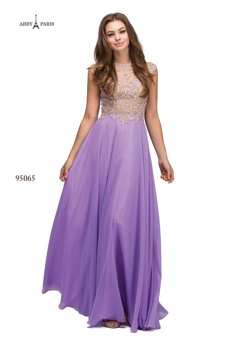 95065-Lilac gown from the 2018 Abby Paris collection, as seen on Bride.Canada